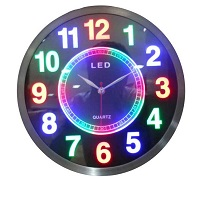 GMS WC-001-LED WALL CLOCK-RS 1600