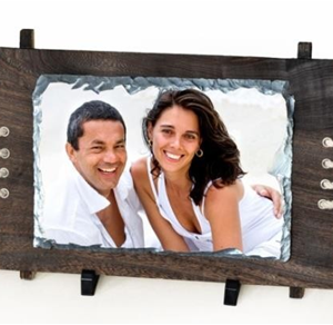 Wooden & rope Photo frame