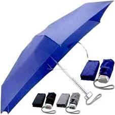 folded umbrella with cover