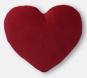 heart shaoed plain in diff colors