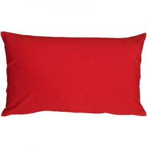 solid coloured rectangle pillow